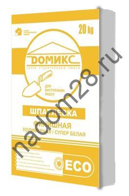 купить Домикс шпатлевка финишная полимерная