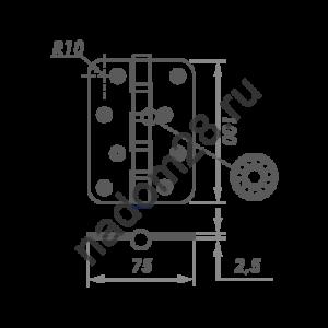 petlja-univers-12575-latun-s-kolp-2-nora-m-stal-5-4vv-snr-rv-1-sht